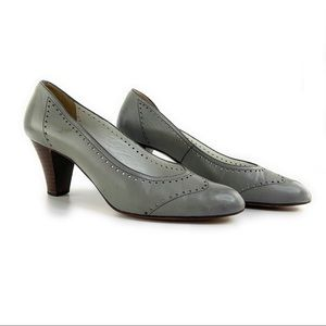 Vintage Gucci Grey Heels As Is